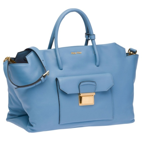 Miu Miu baby blue bag