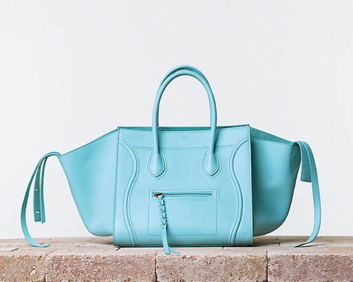 Baby blue Céline bag
