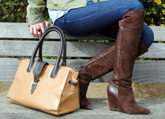 Tous bag_Nine West OTK boots
