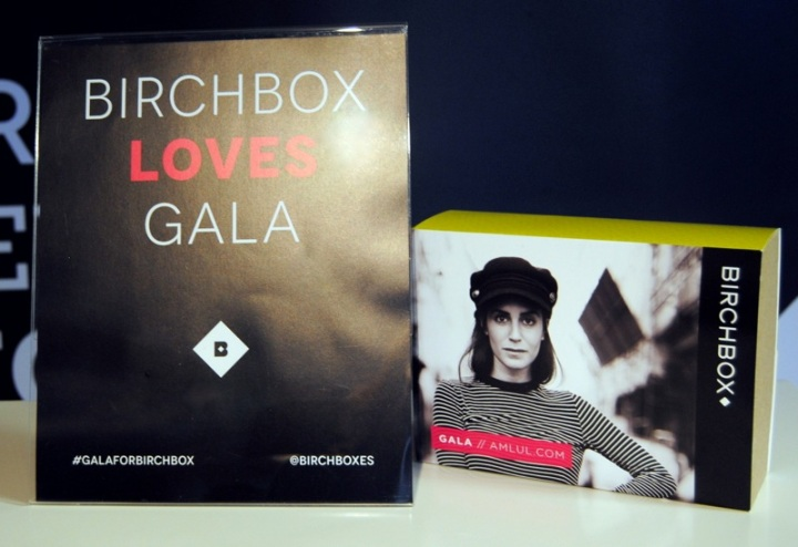 Gala Gonzalez for Birchboxes