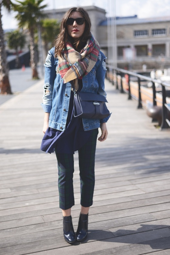 oversize denim jacket
