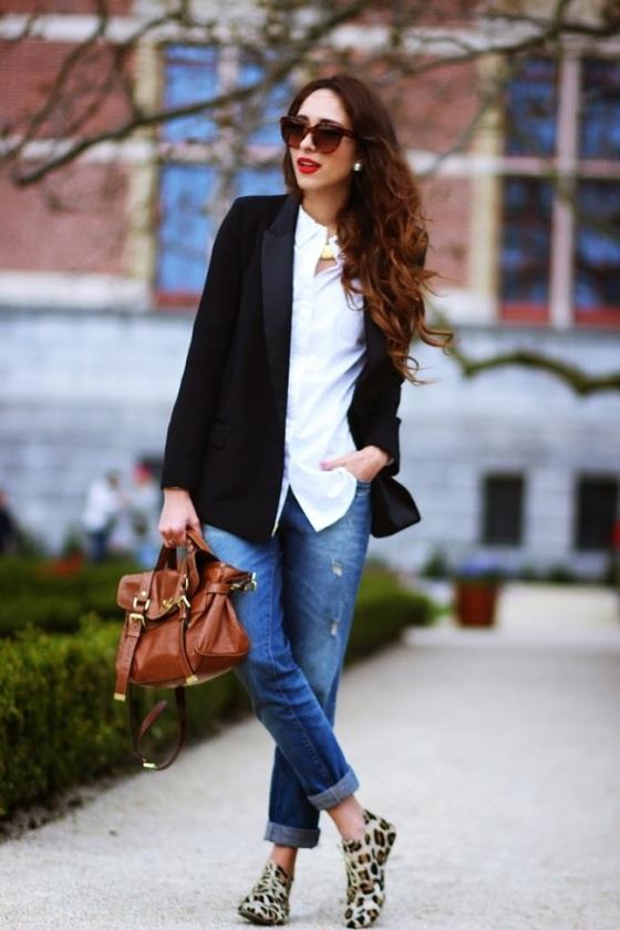 Preppy fashionista