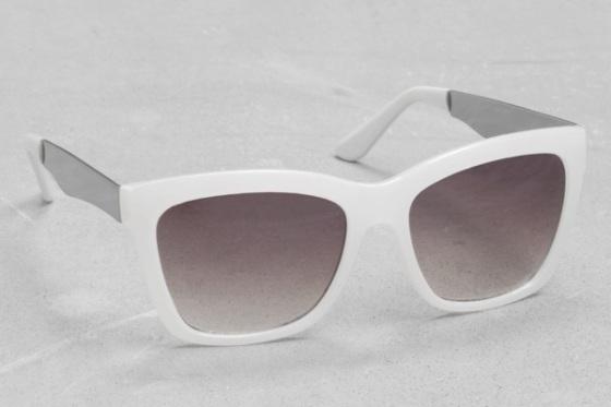 gafas sol blancas
