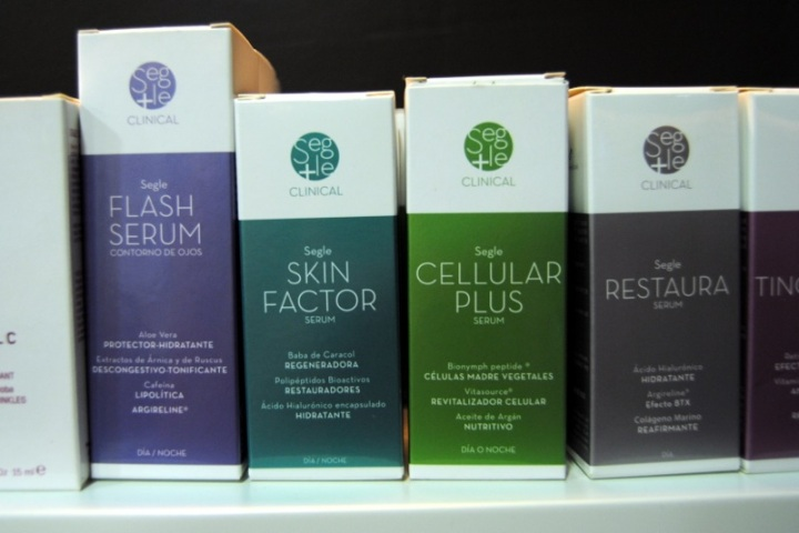 GPS lab beauty products