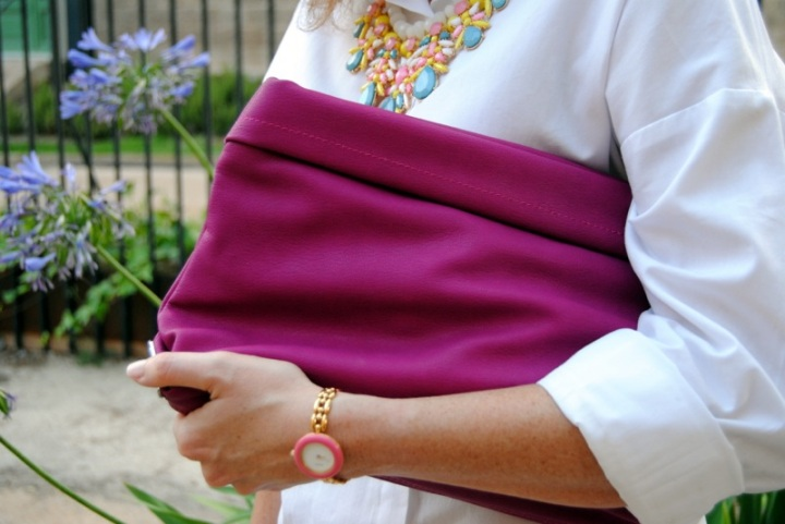 Pink Zara Clutch