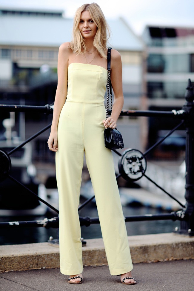 asos yellow jumpsuit