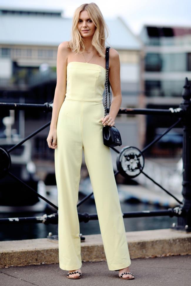 asos yellow jumpsuit