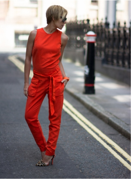 orange jumsuit look