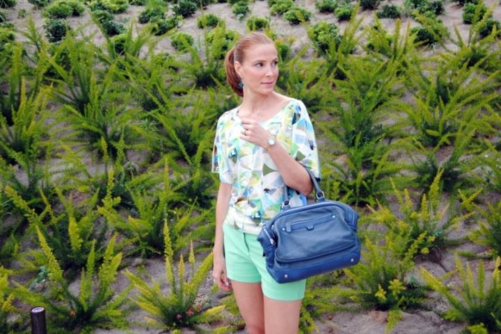 Pastel summer look