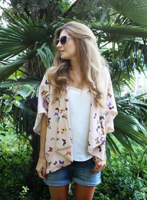 Kimono + jean short