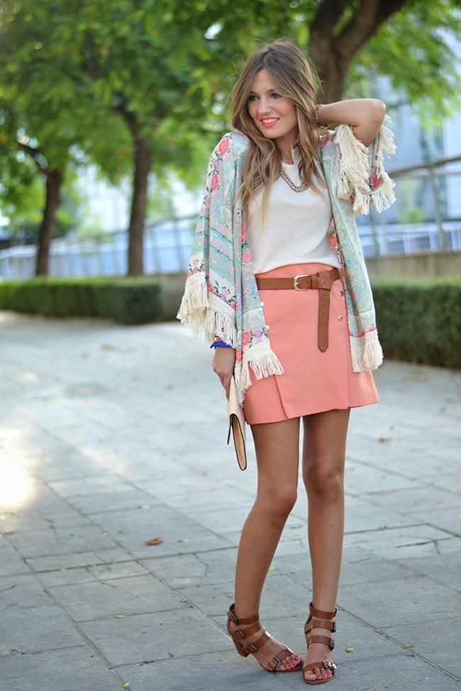 Look con kimono