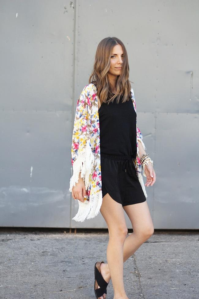 Kimono look