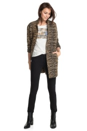 abrigo mezcla lana