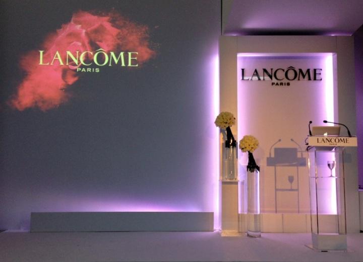 Lancôme event Barcelona