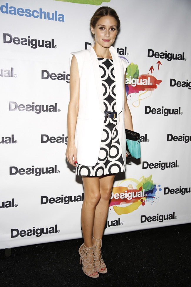 Desigual dress and vest look