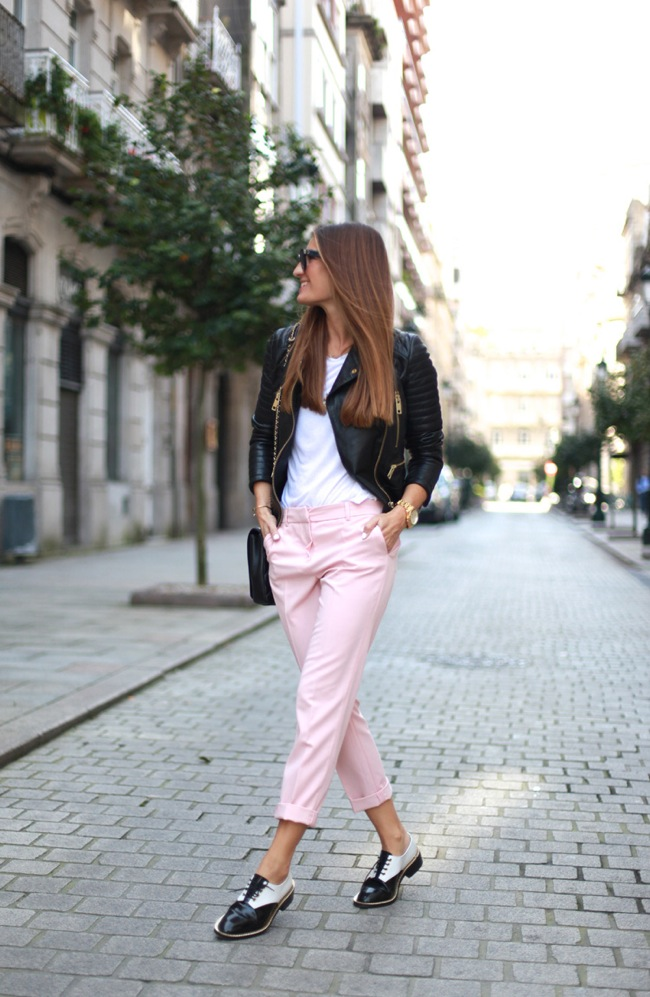 Pink pants_pantalones rosas
