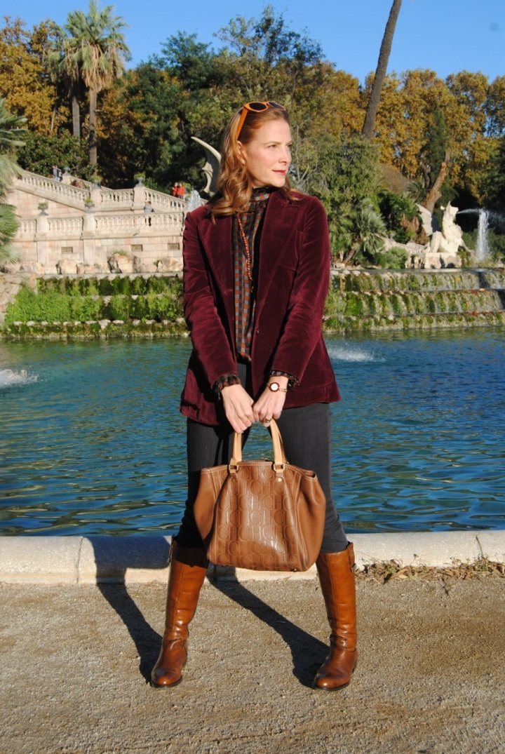 Look con botas Callaghan