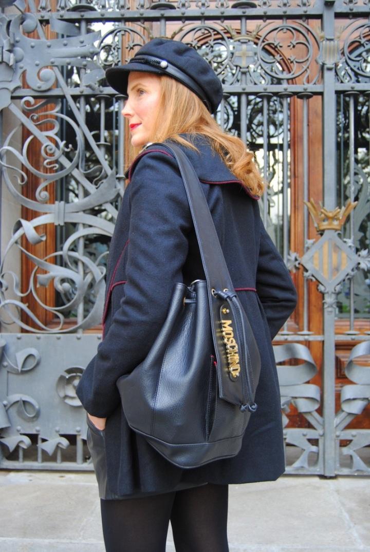 Moshcino black bag