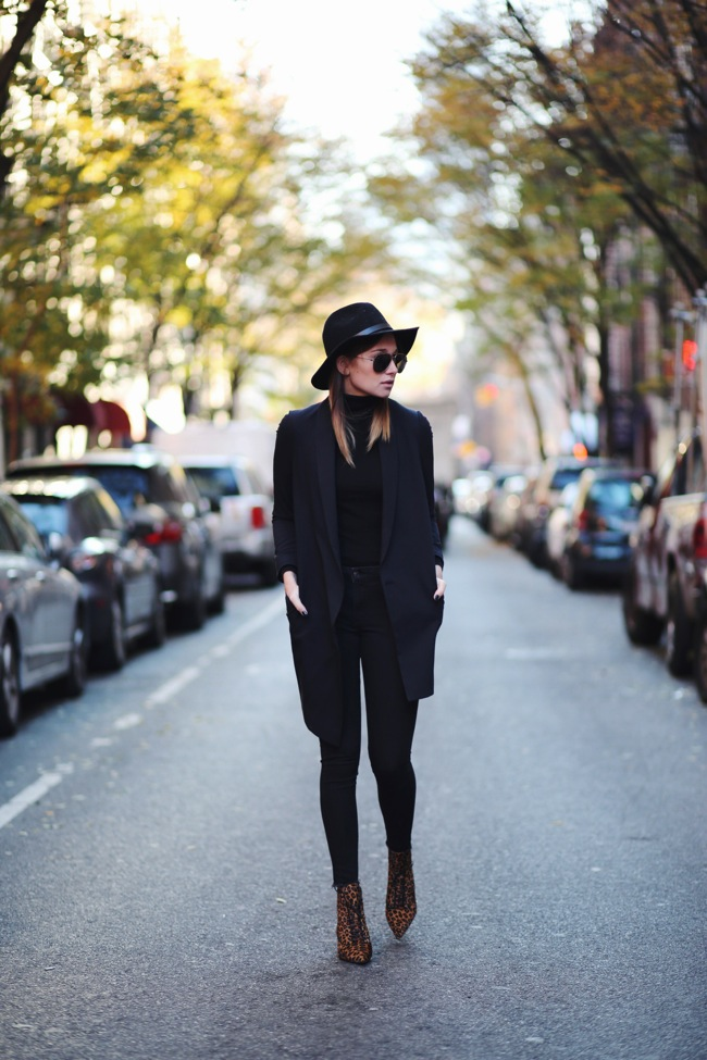 Looks invernal en negro