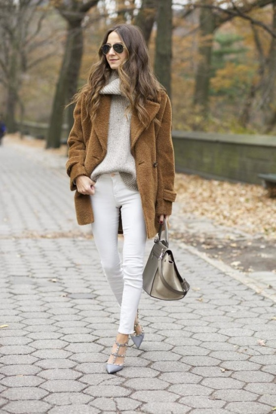 White look for winter