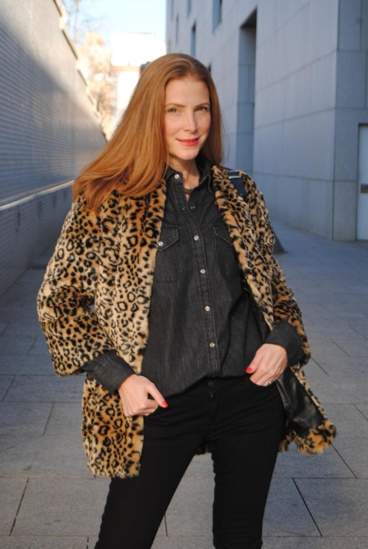 Abrigo leopardo de Suitblanco