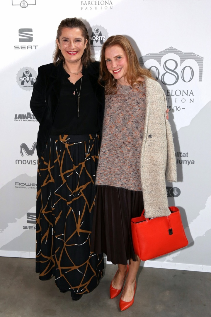 Con Sybille Horaist Gramaglia de Escorpion