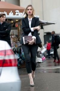 Street style Paris Haute Couture AW15