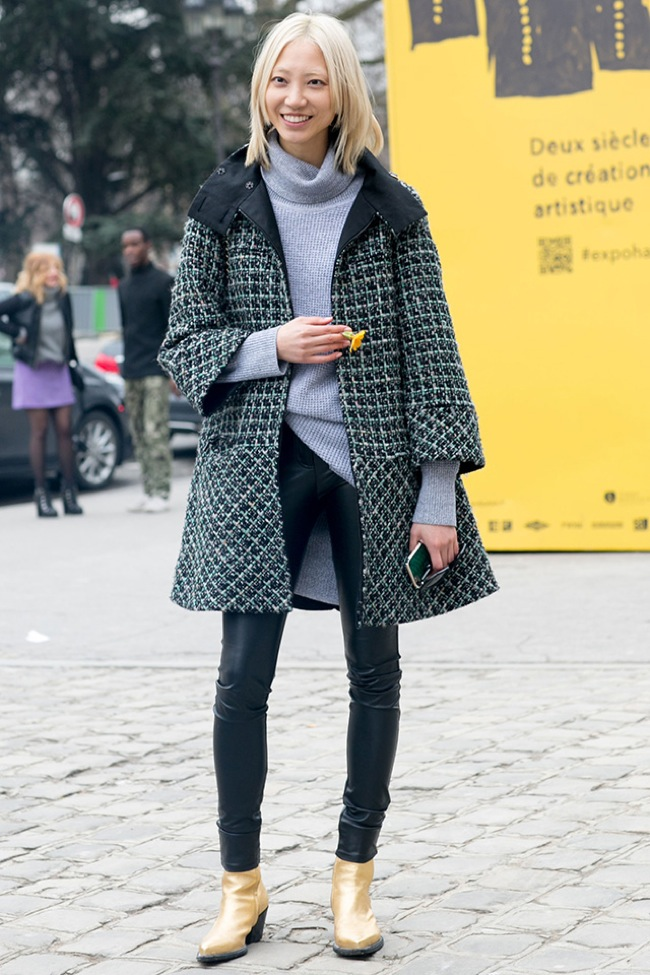 Street style Paris Haute Couture AW15