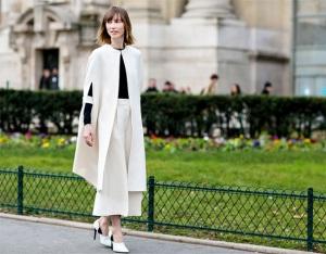 Looks calle Paris Alta Costura
