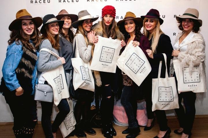 Fiesta inauguración tienda online Raceu Hats