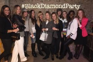 Bloggers at Beaprincess Black diamond party Barcelona