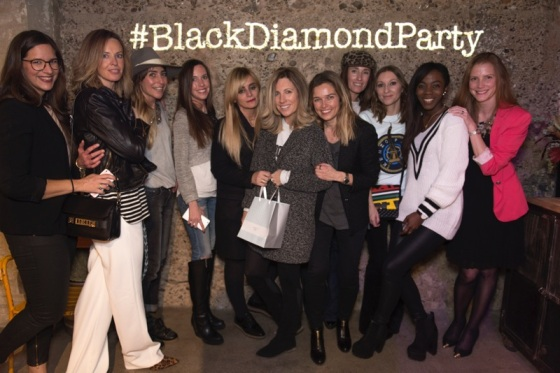 Bloggers at Beaprincess Black diamond party Barcelona