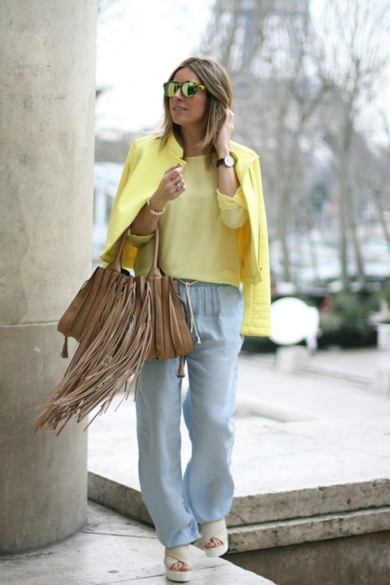 Lupo fringed bag