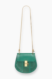 Drew bad in perforated green
