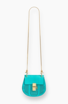 Drew bag mini washed blue