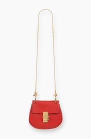 Drew bag red