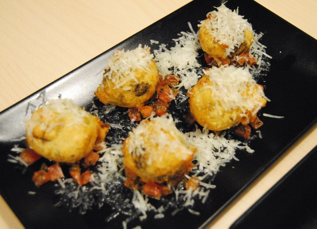 Croquetas de queso gorgonzola