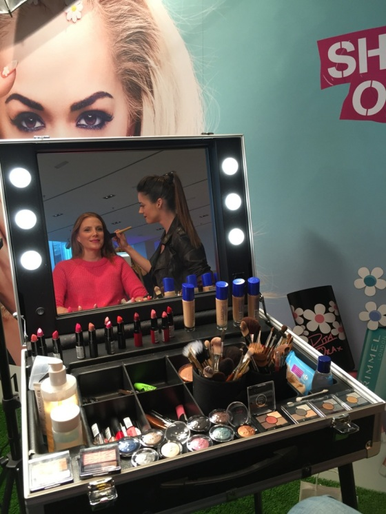 Make up time with Rimmel