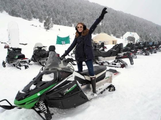 Motos de nieve Grandvalira