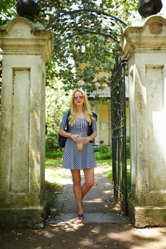 Vestido cuadro Vichy