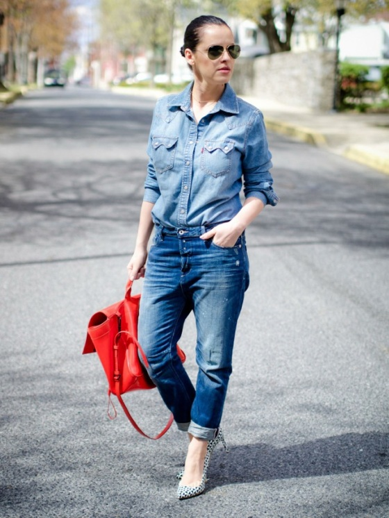 Look total en denim