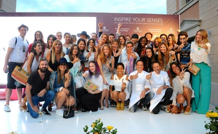 Bloggers #fashionmeetsfood La Roca Village