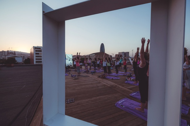 W Barcelona Sunset Session with Tara Stiles