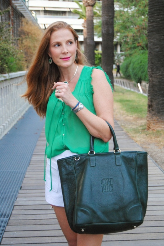 CH green bag