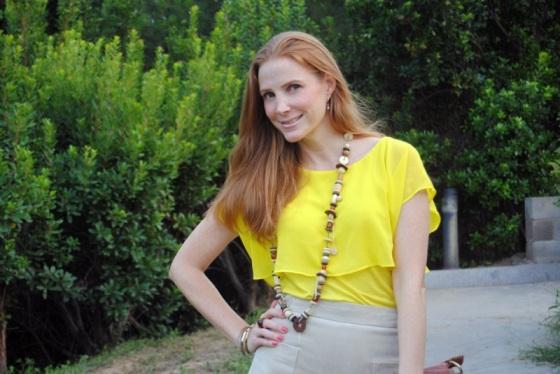 Falda de Ante Mango