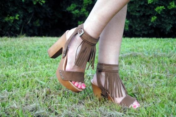 Julietta Barcelona fringed sandals