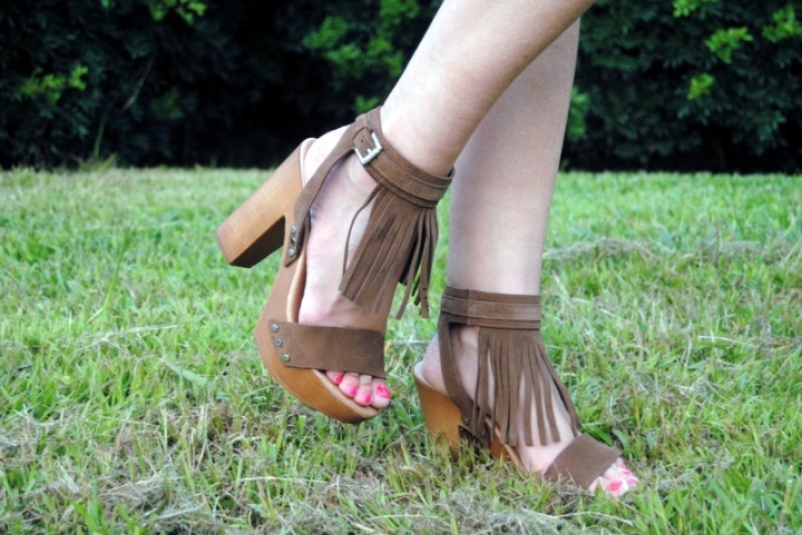 Julietta Barcelona fringed sandals