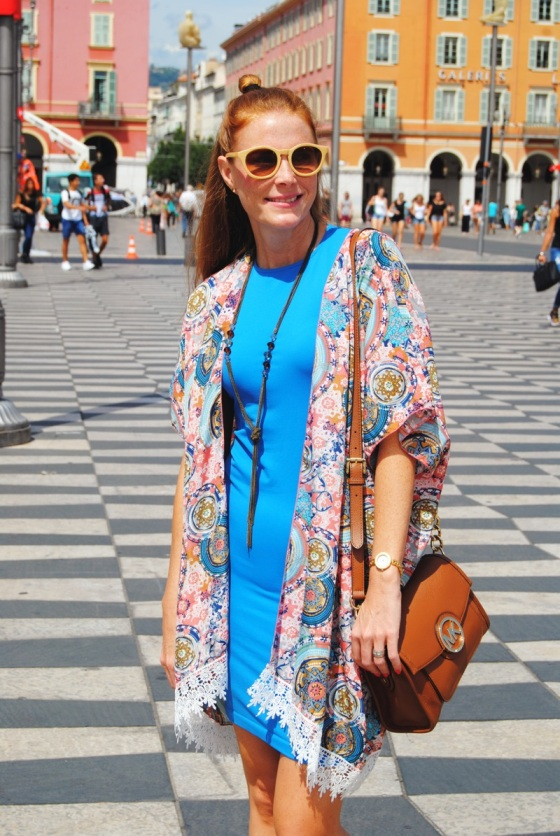 Kimono Dressing y Vestido Bilbao de Wolford