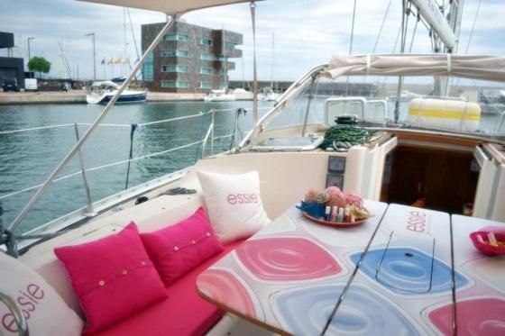 Essie sailing boat