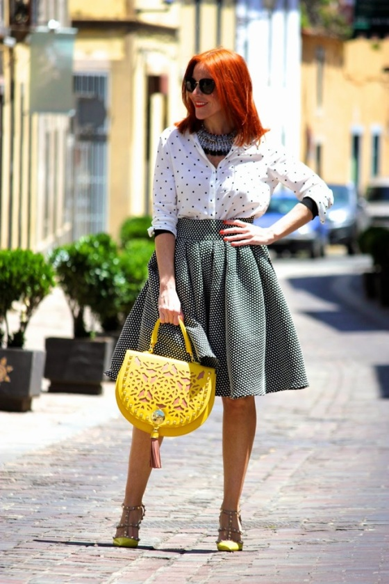Total polka dots look